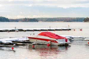 Boat storage for winter