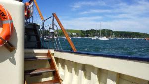 Image of sailboats in marina, Adventure Marine